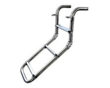 TREM Echelle pliante 3 marches aluminium
