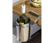 MARINE BUSINESS Porte bouteille thermique inox avec support