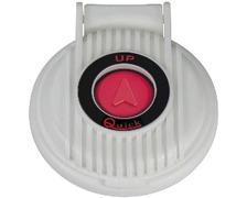 QUICK Contacteur à pied montée (bouton rouge et capot blanc)