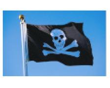 BIGSHIP Pavillon pirate - tête de mort