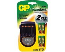 GP Chargeur H500 + 4 piles AA 2700mAh