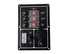 Tableau électrique 3 inter. avec testeur et AC