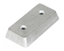 BIGSHIP Anode plaque 100 x 50 x 18mm blister