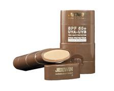 JEEWIN Stick solaire visage & lèvres SPF50+ (brun) 9g