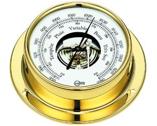 BARIGO Tempo baromètre laiton Motif Déco 85 mm