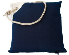 MARINE BUSINESS Coussin bleu marine (housse + coussin)