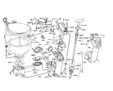 RM69 Kit de réparation pour pompe WC Sealock