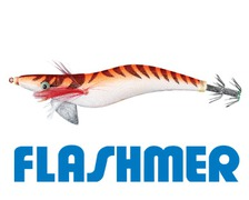 FLASHMER Turlutte kariba 12cm tissu orange