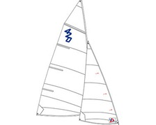 OPTIPARTS grand voile 420
