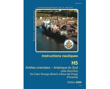 SHOM Instructions nautiques - Antilles Orientales