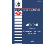 SHOM Instructions nautiques - Afrique (côte Ouest) de Ras Sp