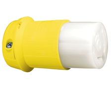 HUBBELL Fiche femelle etanche 32A CE jaune