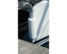 OCEAN PVM1 Défense d'étrave ou de ponton blanche