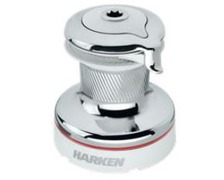 HARKEN Winch self-tailing Bronze chromé Radial white