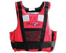 LALIZAS Gilet Pro Race rouge 25-40 kg