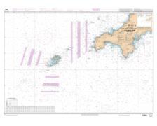 SHOM L6967 de Saint Agnes Head à Dodman Point Isles of Scill