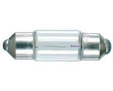 Ampoule navette 11 x 38mm 12V - 5W les 2