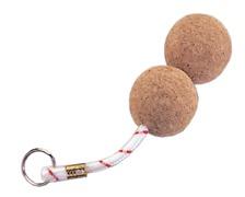 Porte clefs liège double