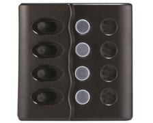 Tableau éléctrique 4 inter. LED et disjoncteurs 15A