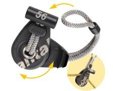 ANTAL Poulie ouvrante Dynablock 44 - Loop démontable - SWL 6