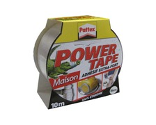 PATTEX Adhésif Power Tape blanc 10m