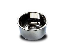 BARKA Evier cylindrique inox poli miroir Ø260 mm h 180 mm