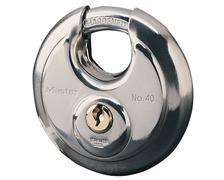 MASTERLOCK Cadenas ronds en Inox 70mm diam. 9 mm