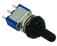 Interrupteur mini à levier 10A on-off-on