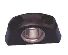RWO Filoir plastique noir bagué inox pour cordage Ø8-12mm -