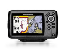 HUMMINBIRD Helix 5GPS HD-XD sonde TA + carte France 26G