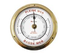 BIGSHIP Pendule de marée laiton 95mm