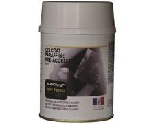 SOROMAP Gelcoat blanc paraffiné accéléré 0,75L + catalyseur