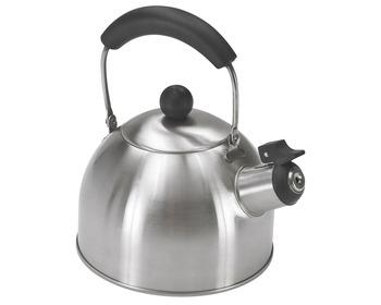 bouilloire inox 1 6l sifflet cuisine bigship accastillage accessoires pour bateaux. Black Bedroom Furniture Sets. Home Design Ideas