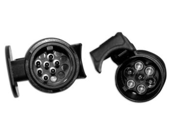 Adattatore di corrente per carrelli/rimorchi/roulotte