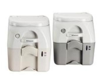 dometic wc portable s rie 972 9 8l gris wc chimiques. Black Bedroom Furniture Sets. Home Design Ideas