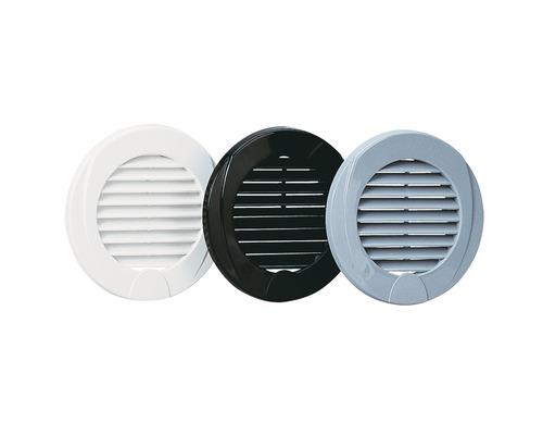 nuova rade grille aeration plastique ronde grise 76 mm. Black Bedroom Furniture Sets. Home Design Ideas
