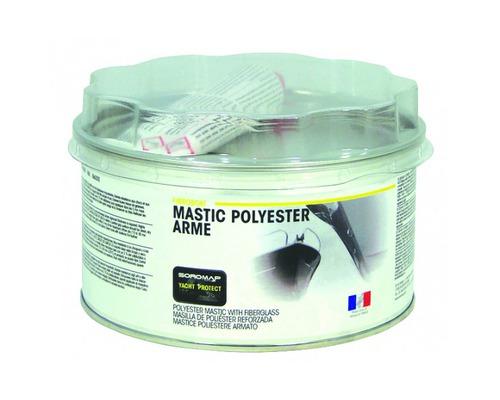 SOROMAP Mastic polyester armé Fibroboat 500g + catalyseur