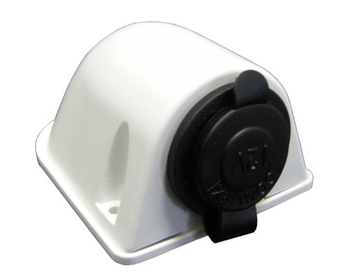 Osculati socle femelle allume cigare tanche ip65 blanche prises courant fa - Socle prise de courant ...
