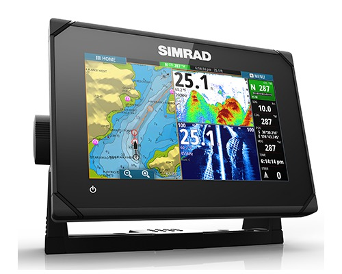 SIMRAD Combiné GPS Sondeur GO7 Sonde Active Imanging 3-1