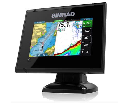 SIMRAD Combiné GPS sondeur GO5 Active imaging 3-1