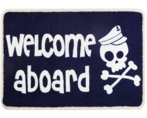Marine Business Tapis Welcome Skull Tapis Bigship Accastillage