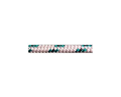 MEYER Drisse Fastnet Ø6mm blanc fil vert
