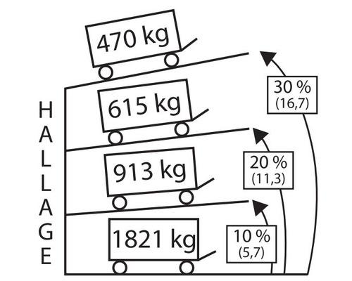 GOLIATH Treuil manuel 470 kg