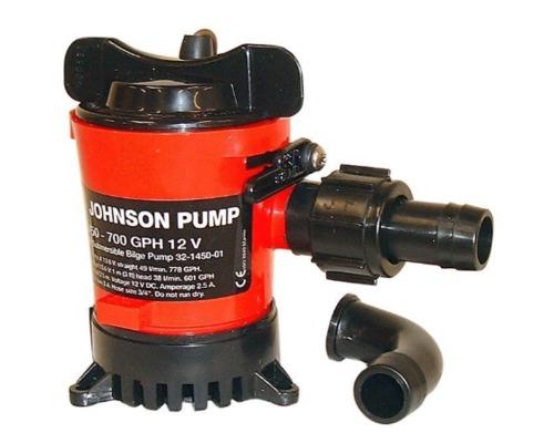 JOHNSON Pompe de cale L550 50L/min 12V