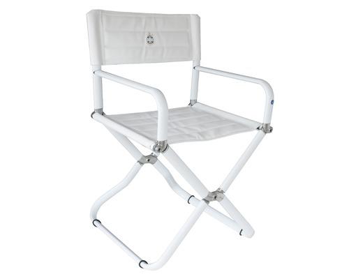 trem fauteuil pliant candia blanc si ges fauteuils bigship accastillage accessoires pour. Black Bedroom Furniture Sets. Home Design Ideas