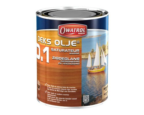 OWATROL Decks Olje D.1 Saturateur mat incolore 1L
