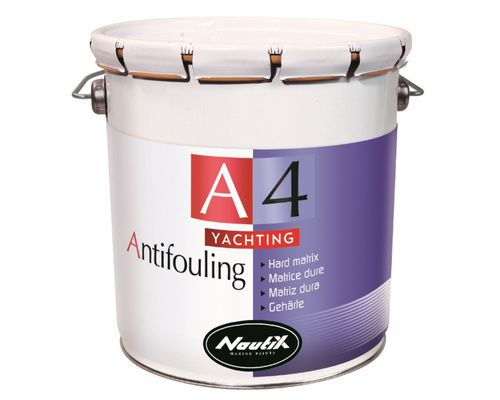 NAUTIX A4 Yachting Antifouling matrice dure Rouge 2,5
