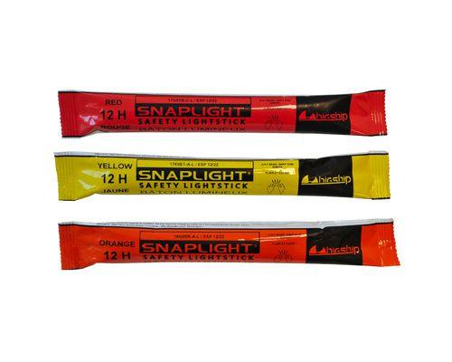 CYALUME Pack de 3 SnapLight 12h (rouge, jaune, orange)