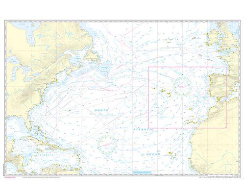 Nv Charts Pilot 5 Carte Marine Hauturiere Atlantique Nord Cartes Bigship Accastillage Accessoires Pour Bateaux