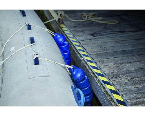 PLASTIMO Pare-battage articulé bleu 15x60cm